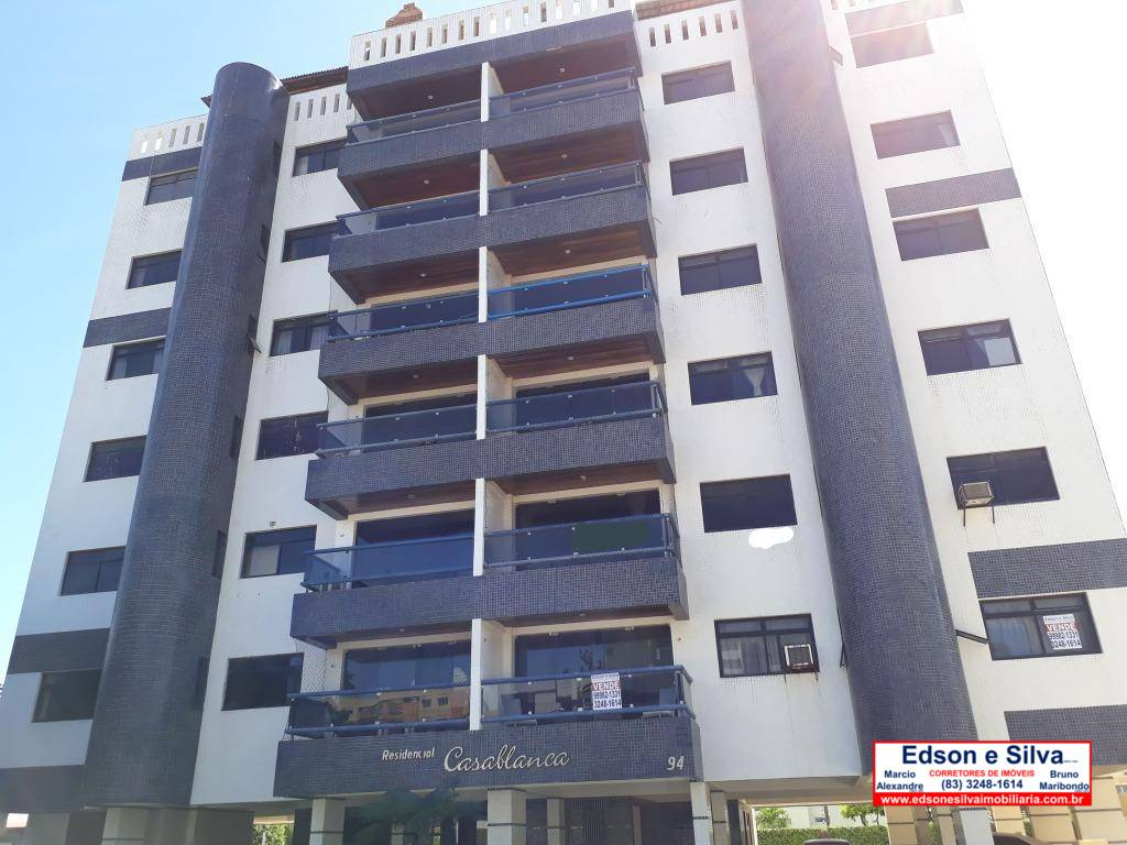 Apartamento com 3 dormitórios à venda, 173 m² por R$ 420.000 - Camboinha - Cabedelo/PB