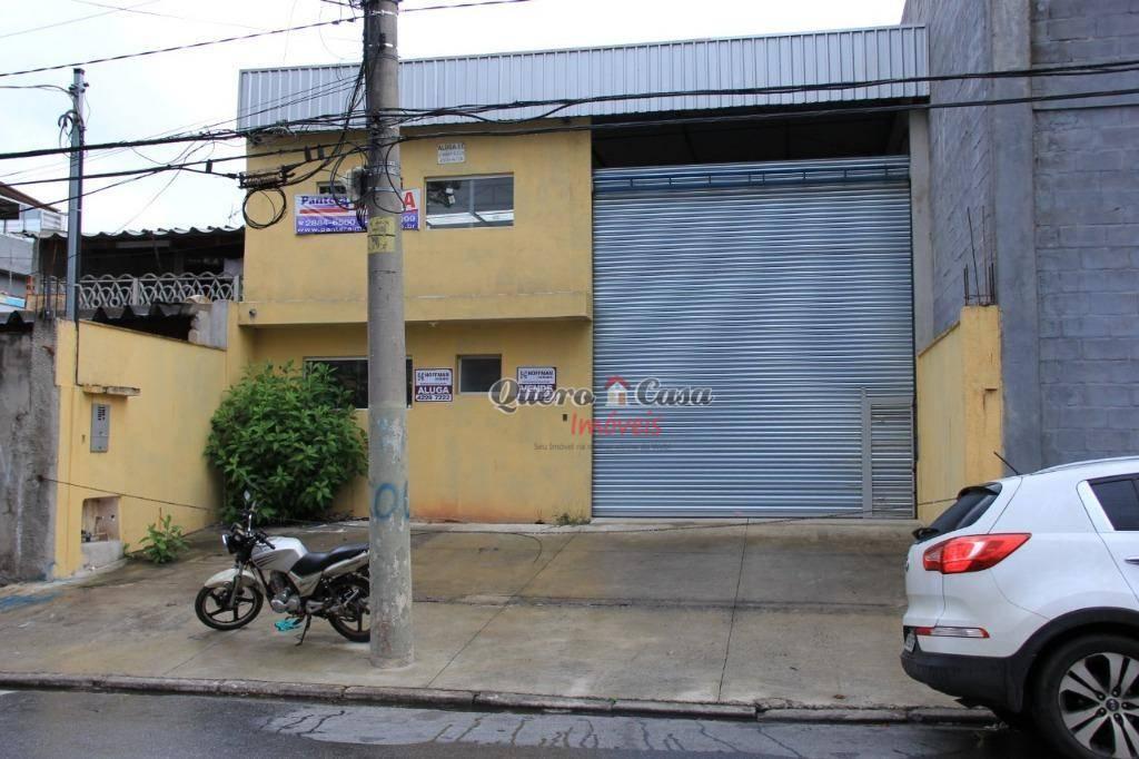 Galpão comercial para locação, Prosperidade, São Caetano do