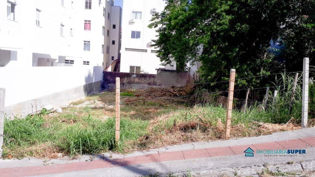 Terreno à venda, 360 m² por R$ 340.000,00 - Praia Comprida - São José/SC
