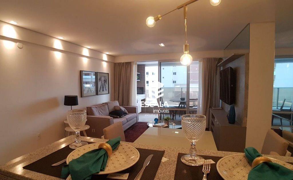 Apartamento com 3 quartos à venda, 117 m², 2 vagas, área de lazer - Dunas - Fortaleza/CE