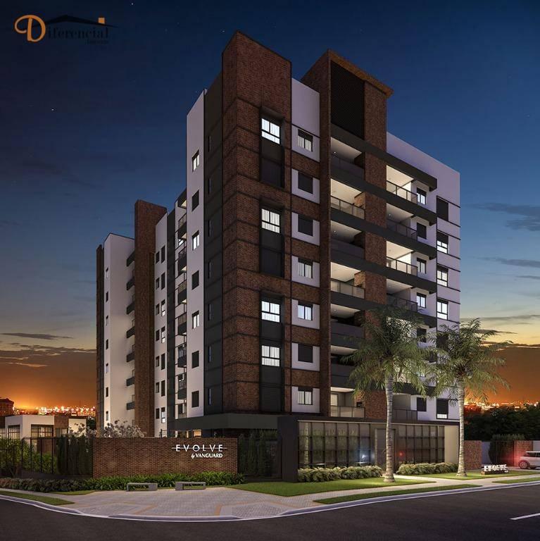 Apartamento com 2 dormitórios à venda, 66 m² por R$ 567.639,00 - Cristo Rei - Curitiba/PR