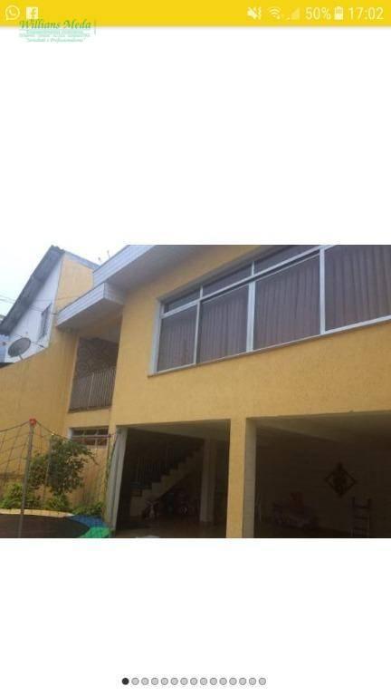 Sobrado com 3 dormitórios à venda, 295 m² por R$ 750.000 - Jardim Munhoz - Guarulhos/SP