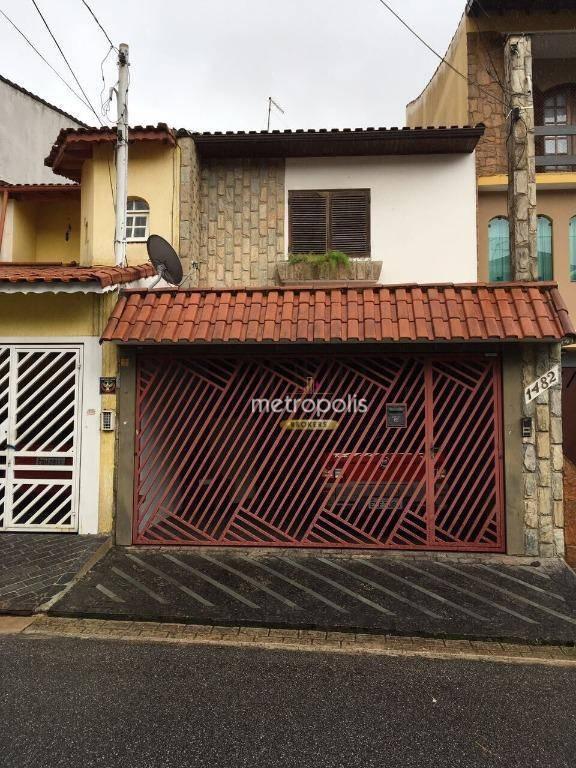 Sobrado à venda, 180 m² por R$ 685.000,00 - Campestre - Santo André/SP
