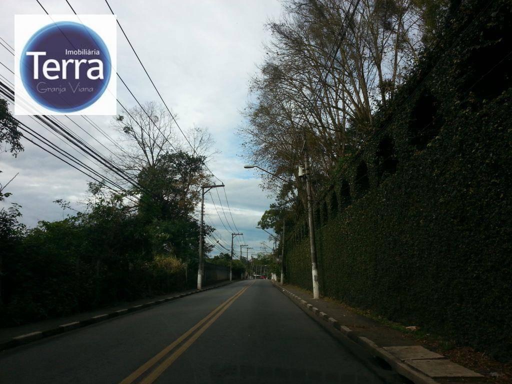 Terreno residencial à venda, Granja Viana.