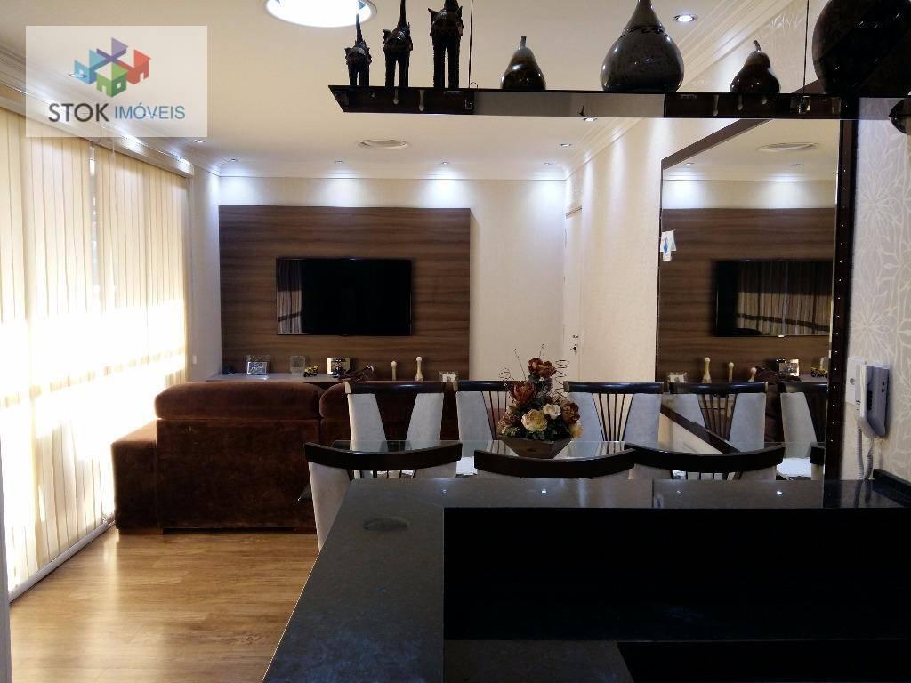 Apartamento com 2 dormitórios à venda, 88 m² por R$ 700.000,00 - Vila Galvão - Guarulhos/SP
