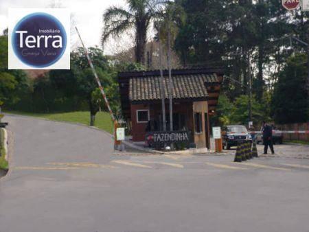Terreno  residencial à venda, Chácara Vale do Rio Cotia, Viana.