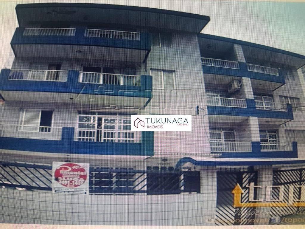 Apartamento à venda, 64 m² por R$ 240.000,00 - Boqueirão - Praia Grande/SP