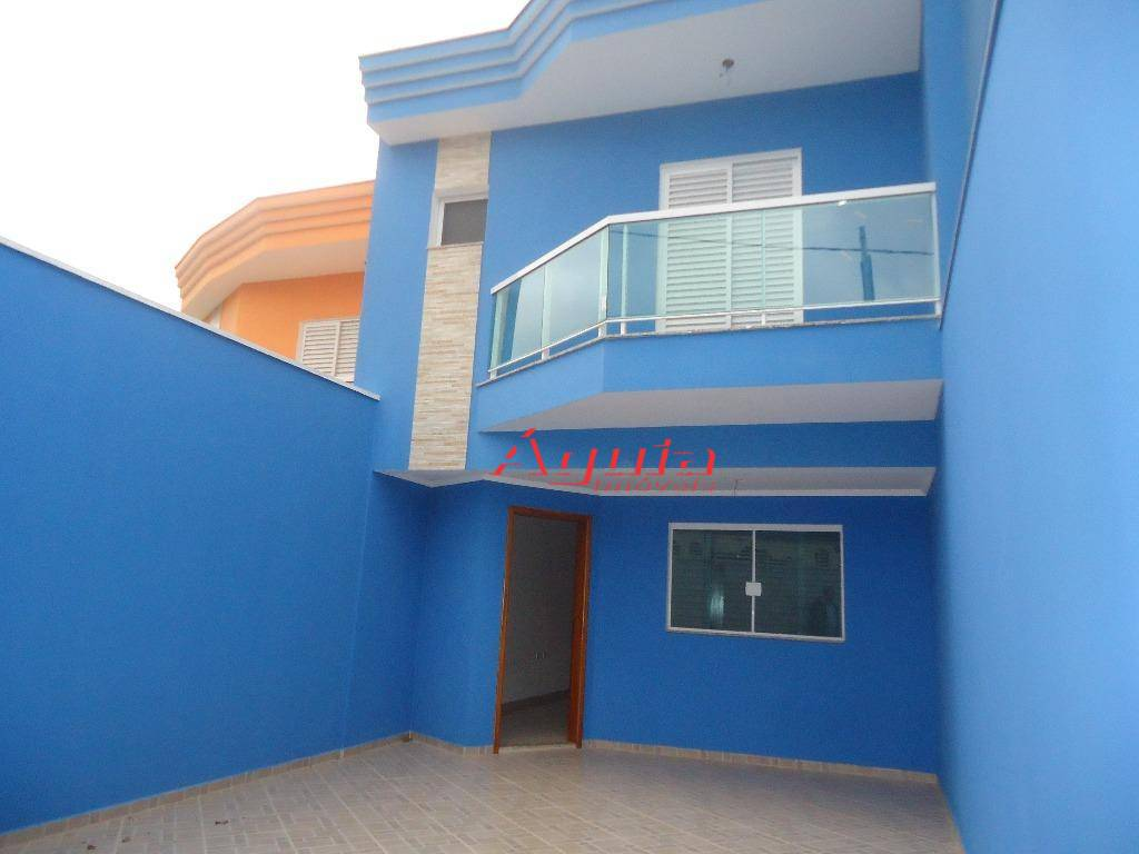 Sobrado com 3 dormitórios à venda, 120 m² por R$ 480.000,00 - Parque Oratório - Santo André/SP