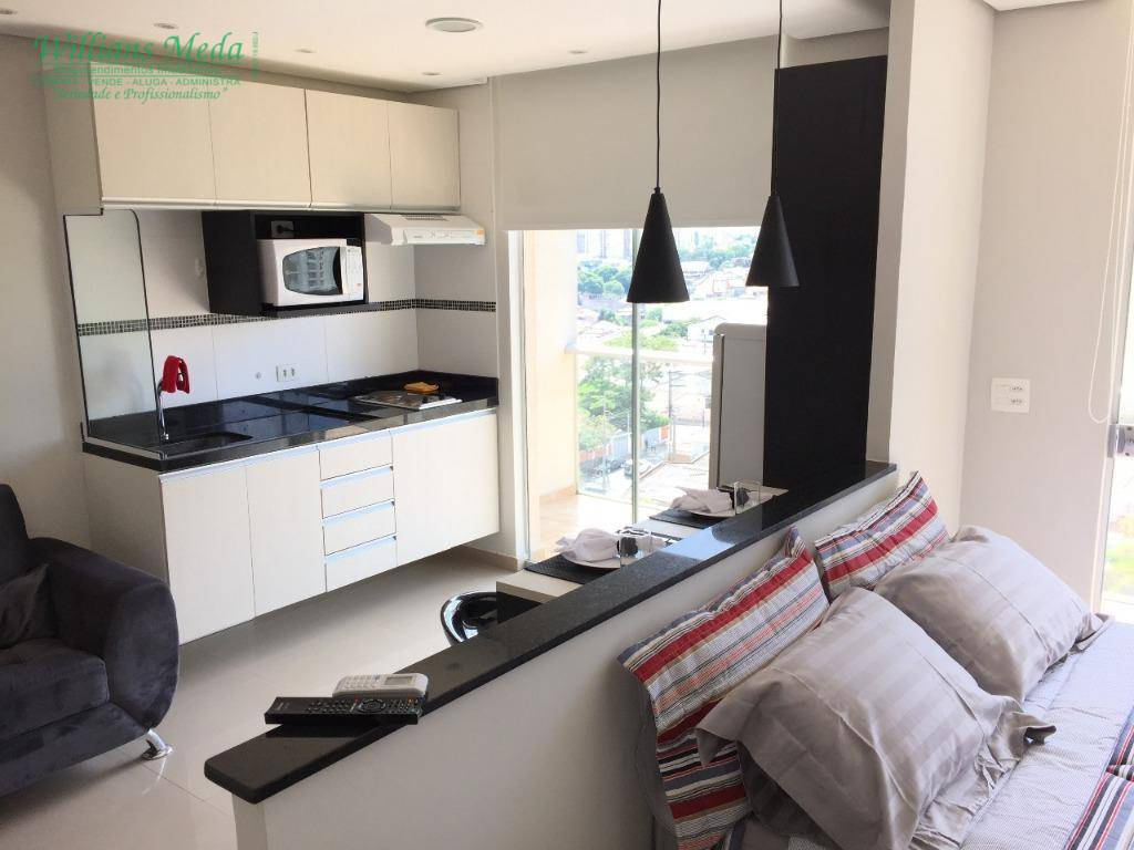 Studio com 1 dormitório para alugar, 36 m² por R$ 1.550/mês - Vila Augusta - Guarulhos/SP
