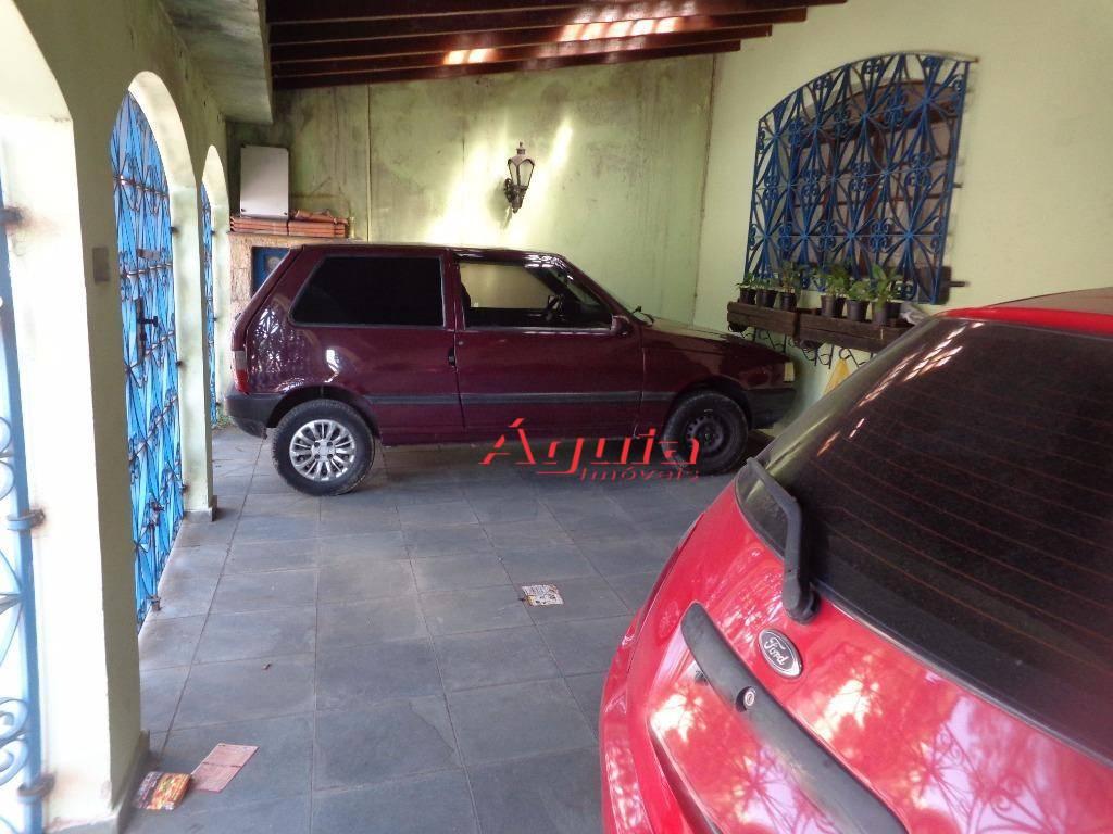 Casa residencial à venda, Parque Novo Oratório, Santo André - CA0028.