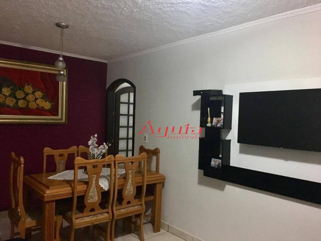 Apartamento com 2 dormitórios à venda, 60 m² por R$ 230.000 - Jardim Alzira Franco - Santo André/SP