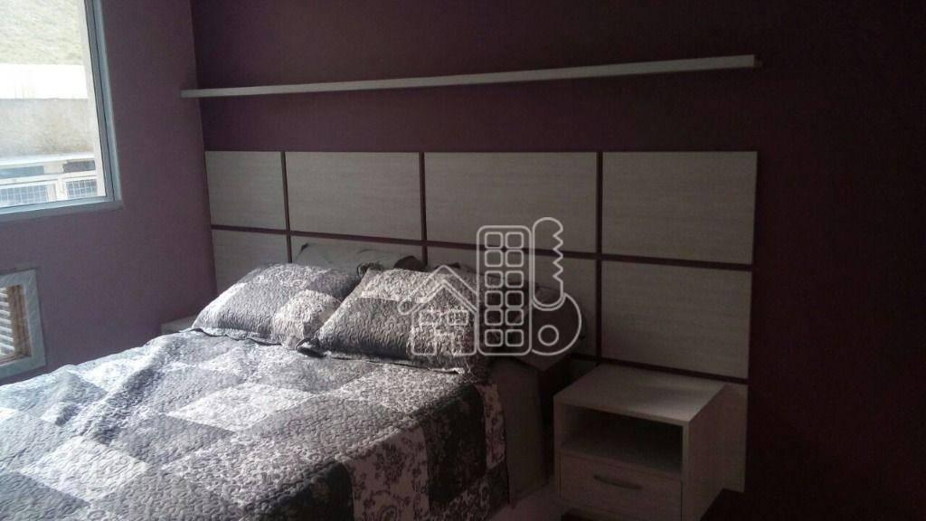 Apartamento com 2 dormitórios à venda, 60 m² por R$ 245.000,00 - Colubande - São Gonçalo/RJ