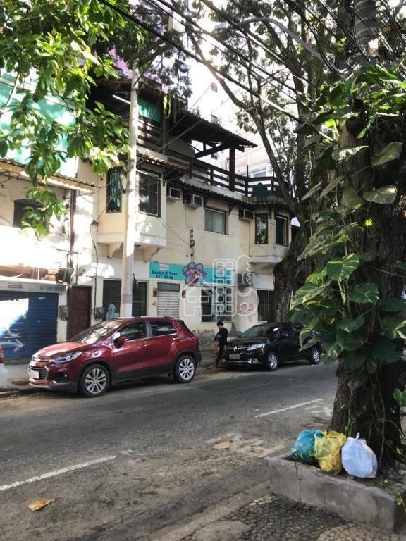 Prédio para alugar, 295 m² por R$ 11.000,00/mês - Ingá - Niterói/RJ