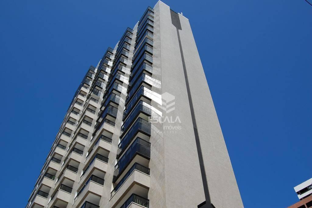 Flat com 1 quarto à venda, 48 m², vista mar, mobiliado - Meireles - Fortaleza/CE
