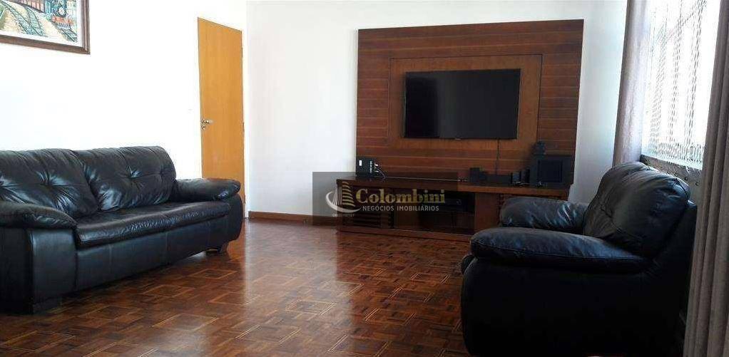 Apartamento reformado para locação, Centro, Santo André - AP0705.