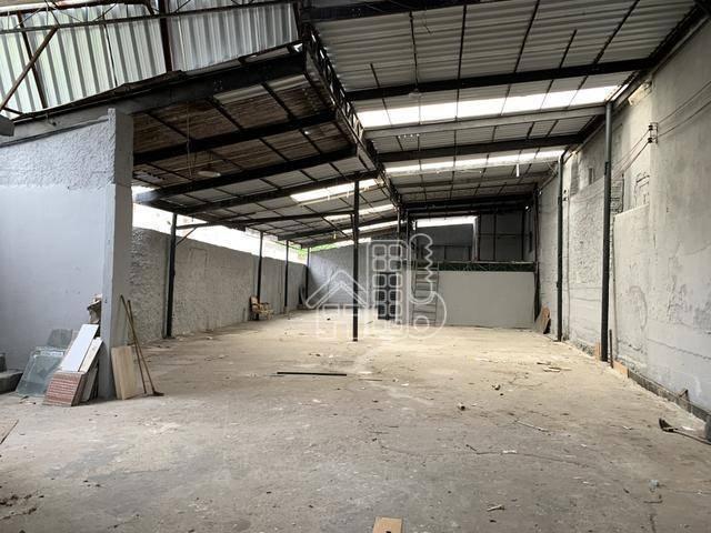 Galpão, 300 m² - venda por R$ 610.000,00 ou aluguel por R$ 3.500,00/mês - Fonseca - Niterói/RJ