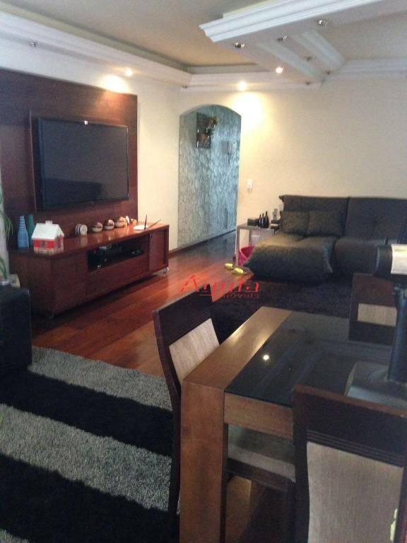 Sobrado com 3 dormitórios à venda, 270 m² por R$ 720.000 - Vila Tibiriçá - Santo André/SP