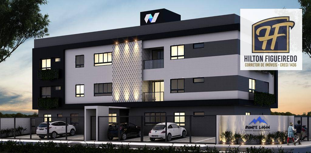 Apartamento com 2 dormitórios à venda, 55 m² por R$ 195.000 - Altiplano - João Pessoa/PB