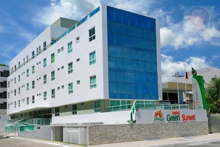 Flat residencial à venda, Cabo Branco, João Pessoa - FL0005.