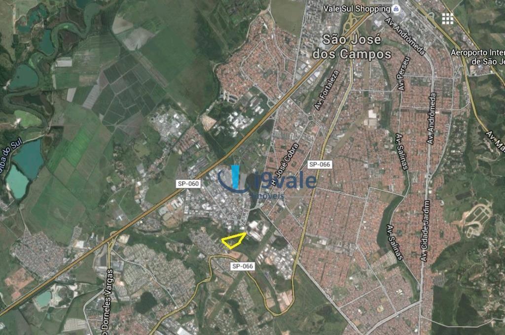 Área à venda em Chácaras Reunidas, São José Dos Campos - SP