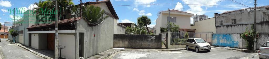 Terreno à venda, 200 m² por R$ 350.000 - Vila Rosália - Guarulhos/SP