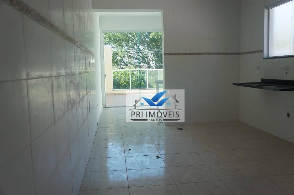 Sobrado à venda, 90 m² por R$ 480.000,00 - Marapé - Santos/SP