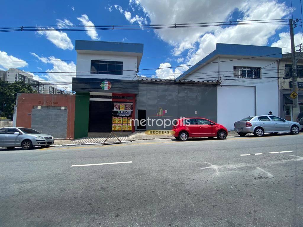 Galpão, 1365 m² - venda por R$ 5.500.000,00 ou aluguel por R$ 38.000,00/mês - Santo Antônio - São Caetano do Sul/SP