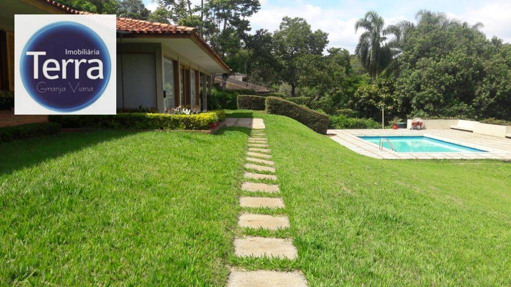 Casa com 3 dormitórios à venda e locação, 655 m² por R$ 3.000.000 - Fazendinha - Granja Viana.