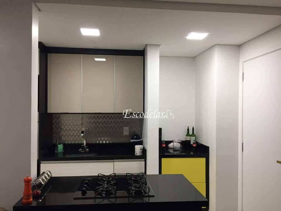 Apartamento com 2 dormitórios à venda, 54 m² por R$ 305.000,00 - Jardim Pedroso - Mauá/SP