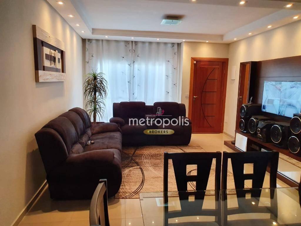 Sobrado com 3 dormitórios à venda, 200 m² por R$ 830.000 - Jardim Maria Cecília - São Bernardo do Campo/SP