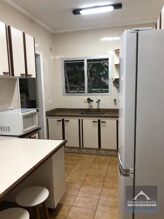 Apartamento com 3 dormitórios à venda, 176 m² por R$ 500.000 - Edifício das Palmeiras - Guarujá/SP, Apartamento Mobiliado