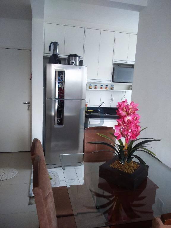 Apartamento residencial à venda, Chácaras Fazenda Coelho, Hortolândia.