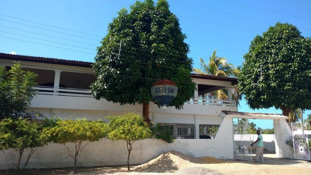 Casa com 9 dormitórios para alugar, 2000 m² por R$ 10.000/mês - Serinhaem - Serinhaem/PE