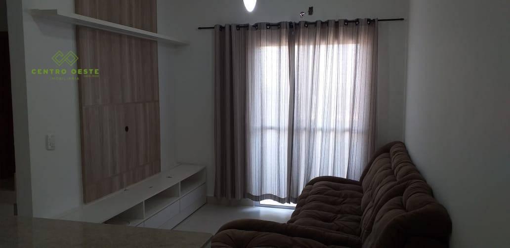 Apartamento com 2 dormitórios para alugar, 47 m² por R$ 1.600/mês - Ribeirão da Ponte - Cuiabá/MT