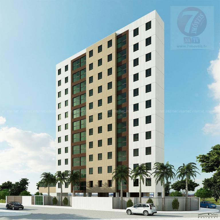 Apartamento residencial à venda, Intermares, Cabedelo - AP01