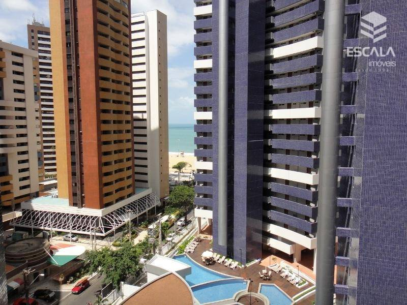 Apartamento para locação, Meireles, 2 quartos, Beach Class, Com Internet / TV a Cabo