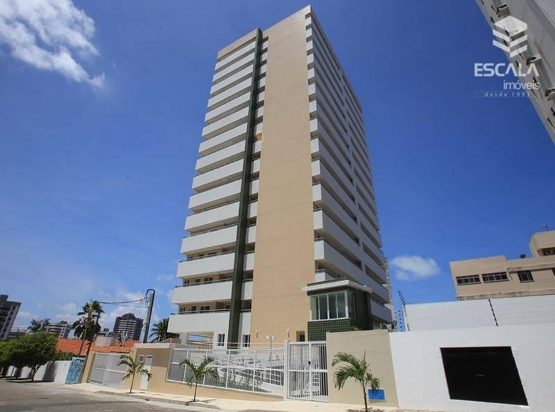 Apartamento com 3 quartos à venda, 118 m², novo, 2 vagas área de lazer - Papicu - Fortaleza/CE