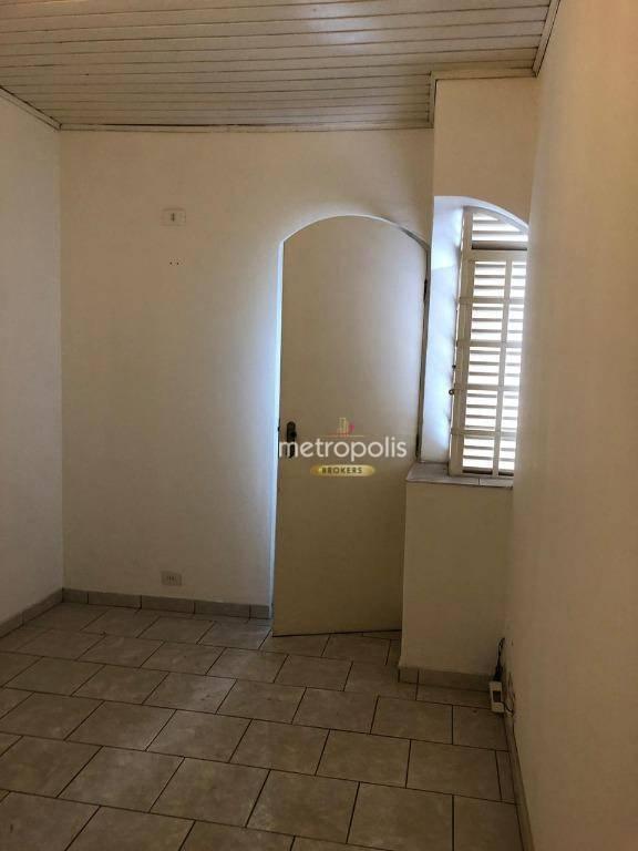 Sobrado com 3 dormitórios para alugar, 90 m² por R$ 1.690,00/mês - Centro - Santo André/SP