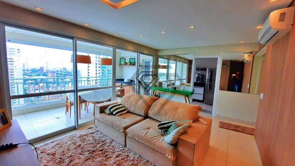 Apartamento 3 Suítes, 94 m² c/ armários à venda no Setor Bueno - Le Quartier - Goiânia