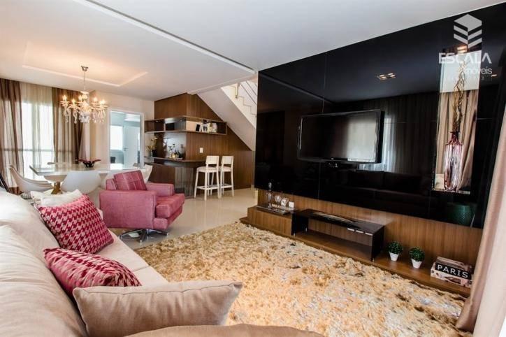 Casa com 4 quartos à venda, 205 m² , cond. Fechado, 4 vagas, financia - José de Alencar - Fortaleza/CE