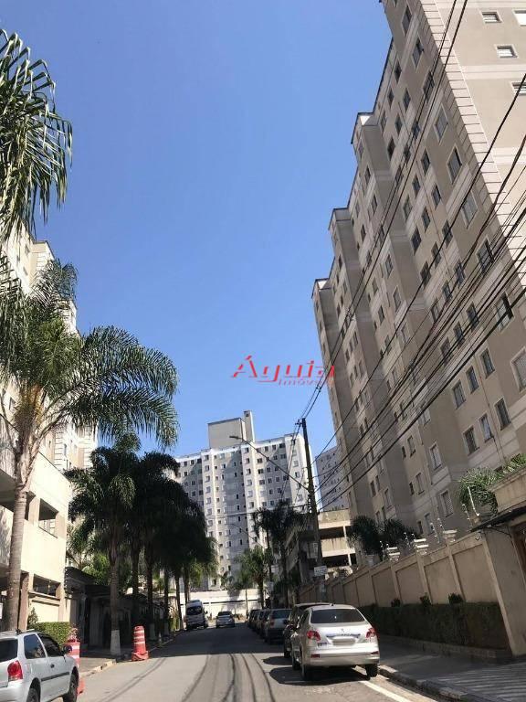 Apartamento com 2 dormitórios à venda, 47 m² por R$ 220.000 - Parque São Vicente - Mauá/SP