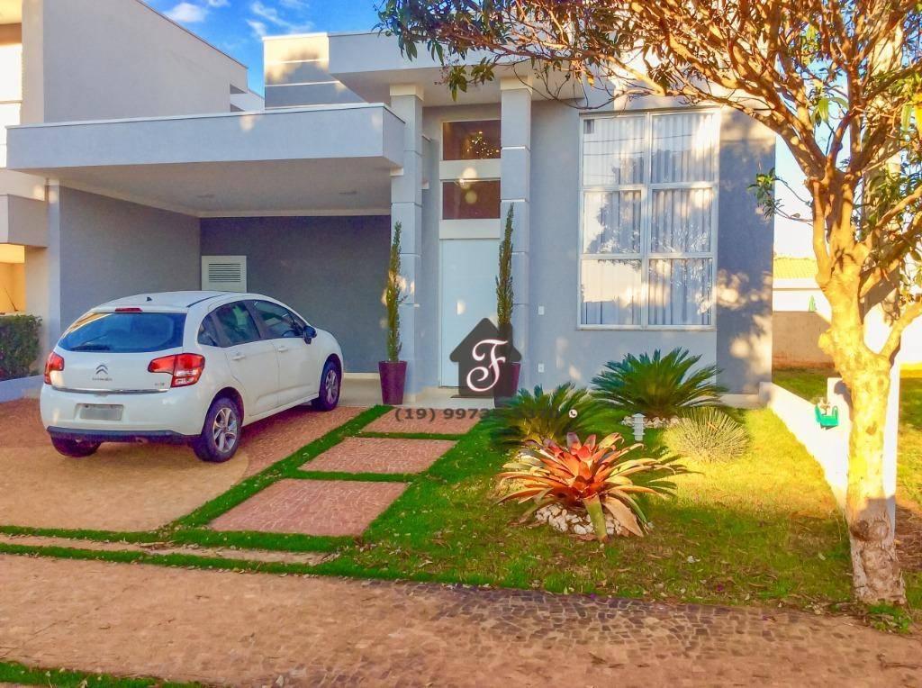 Casa com 3 dormitórios à venda, 170 m² por R$ 855.000,00 - Jardim Pari - Paulínia/SP