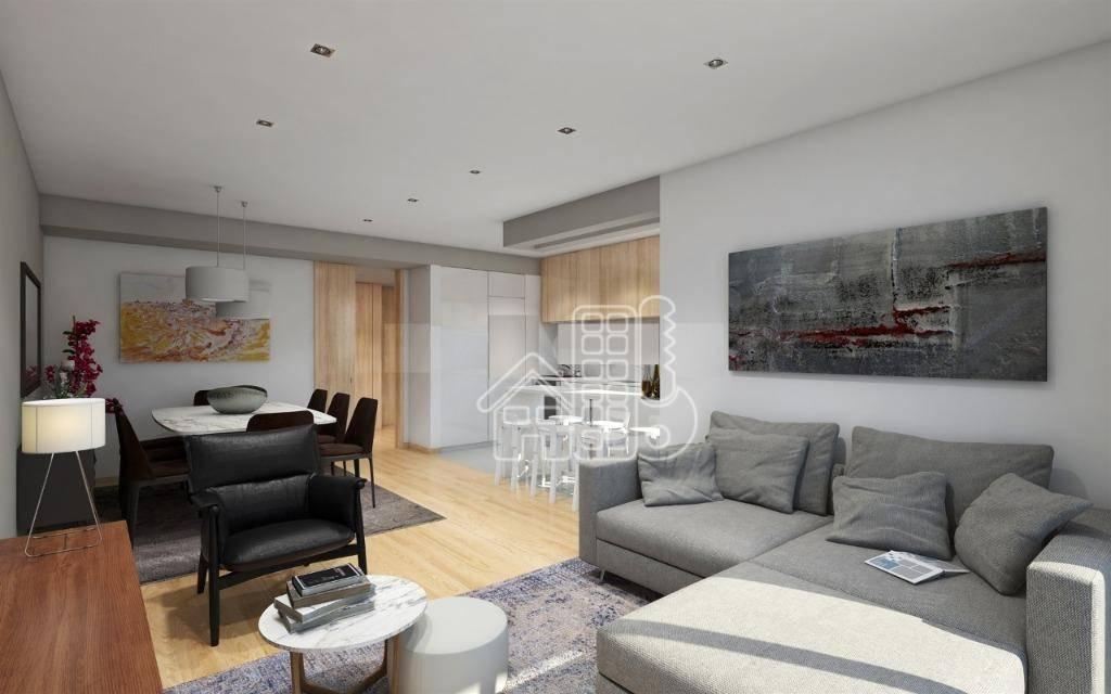 Apartamento com 3 dormitórios à venda, 180 m² por R$ 1.470.000,00 - Porto - Porto/PO