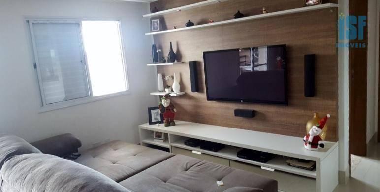 Apartamento residencial à venda, Vila Osasco, Osasco.