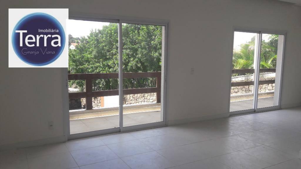 Loft com 1 dormitório à venda, 78 m² por R$ 600.000 - Le Grand Viana - Granja Viana.