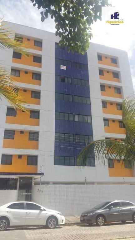 Apartamento residencial para locação, Bancários, João Pessoa.