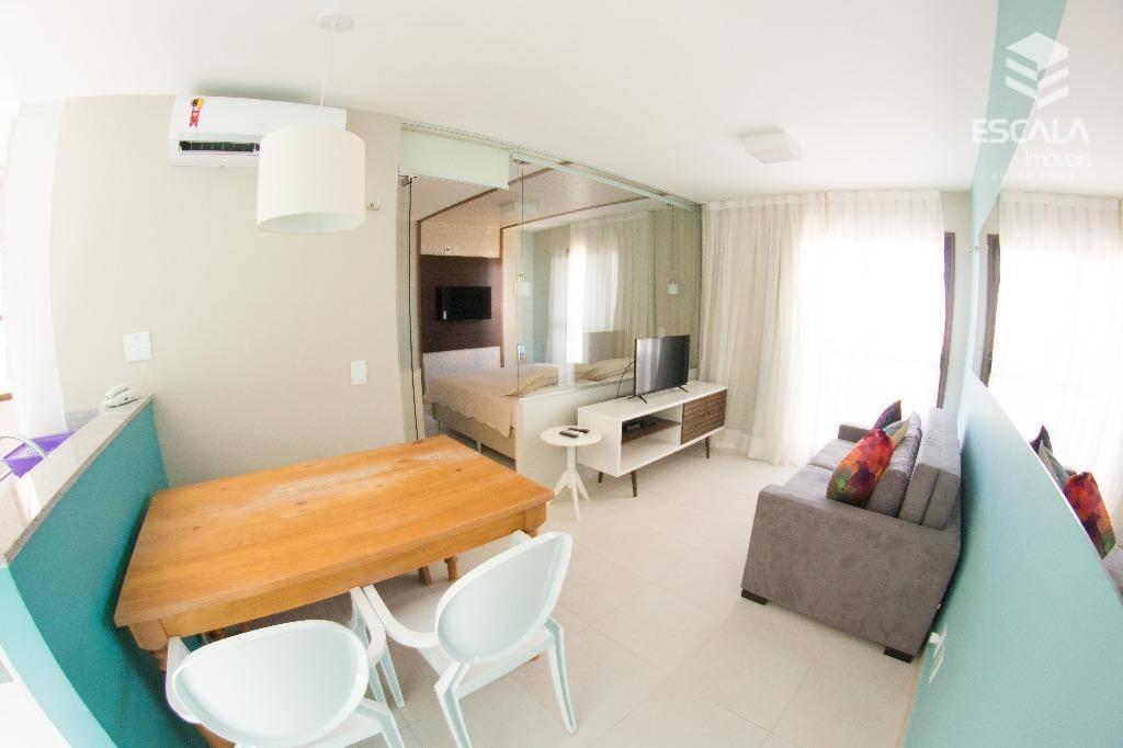 Apartamento com 1 dormitório para alugar, 39 m² por R$ 3.500,00/dia - Cumbuco - Caucaia/CE