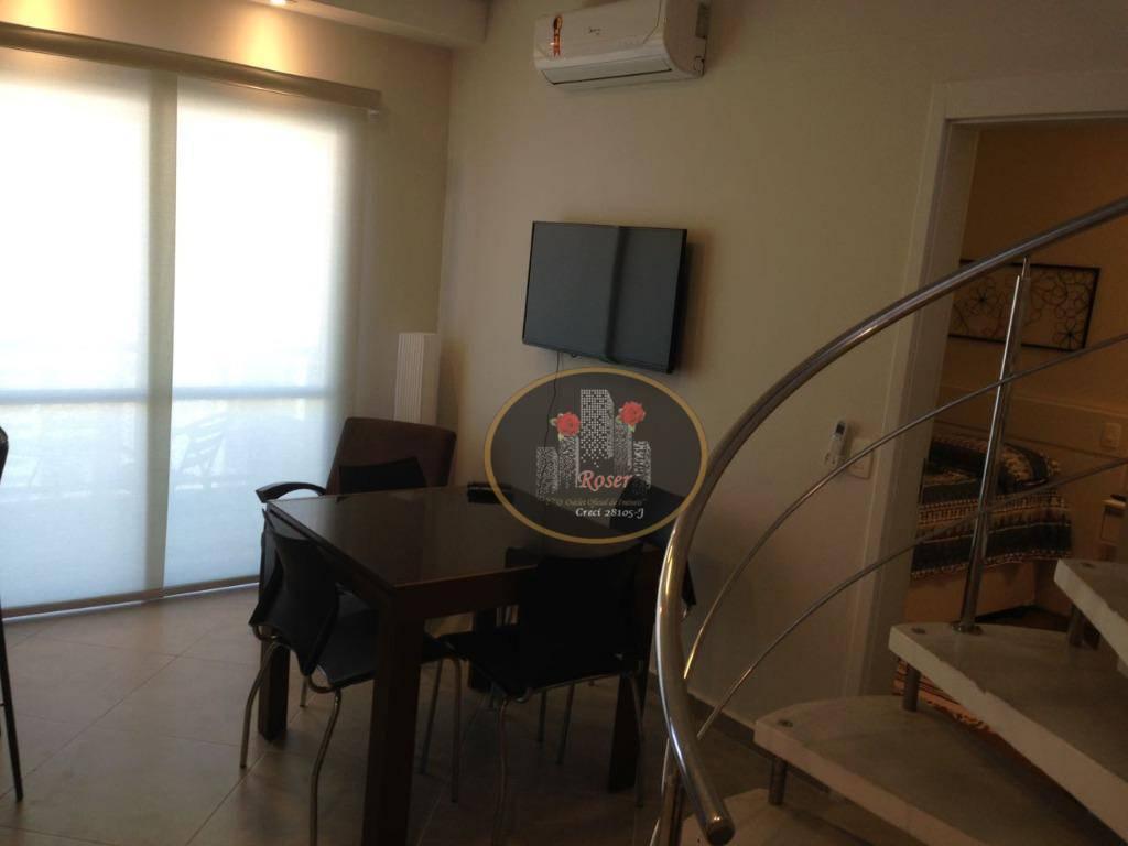Cobertura à venda, 96 m² por R$ 950.000,00 - Boqueirão - Santos/SP
