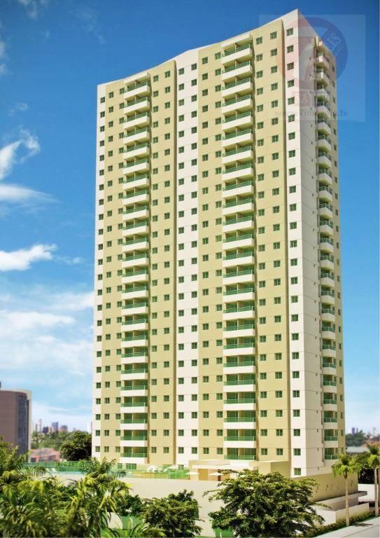 Apartamento residencial à venda, Brisamar, João Pessoa - AP0