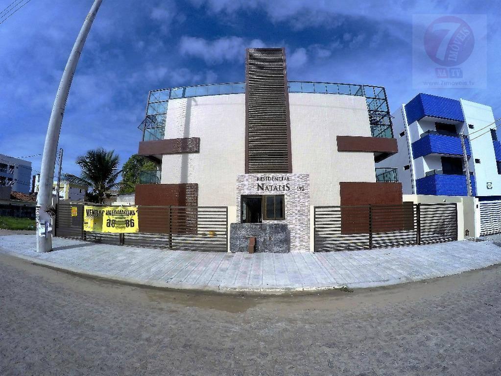 Apartamento residencial à venda, Bessa, João Pessoa - AP0190